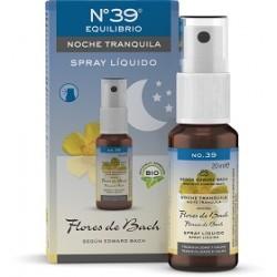 """Spray Liquido No.39 Flores de Bach """"Noche Tranquila"""" BIO 20 ml"""