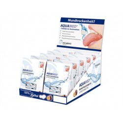 Display AQUAMED Dry Mouth pastillas boca seca