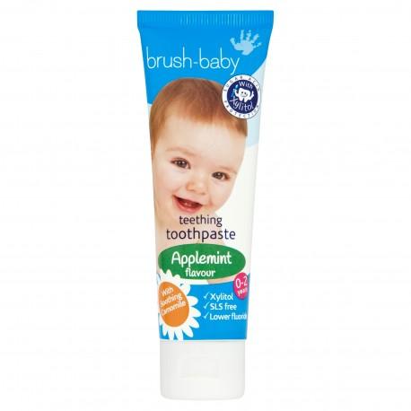 Pasta dental con Xylitol Bruhs-Baby sabor Manzana (0-2 años)