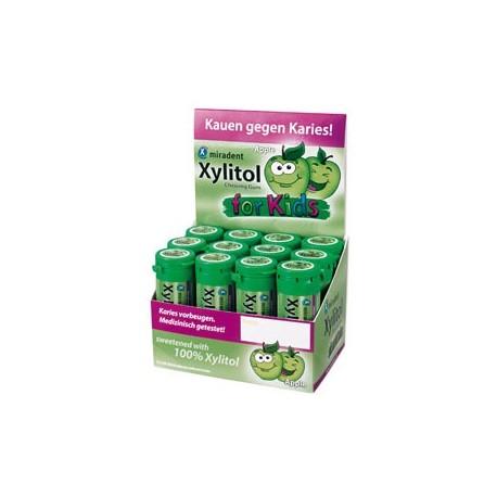 Chicle Xylitol sabor Manzana bote 30 gr