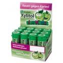 Chicle Xylitol Miradent para niños sabor Manzana Caja 12 botes
