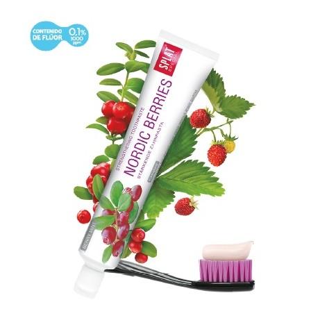 Pasta dental SPLAT Nordic Berries con flúor