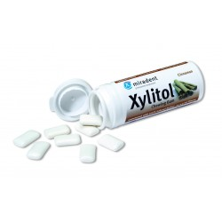 Chicles Xylitol Miradent sabor Canela bote 30 gr