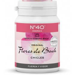 Chicles Flores de Bach No.40 Energia