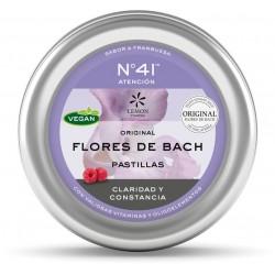 Pastillas Flores de Bach No.41 Concentración