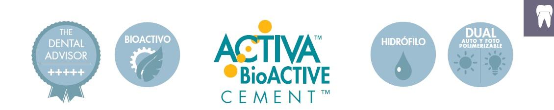 ACTIVA BIOACTIVE CEMENTO PULPDENT