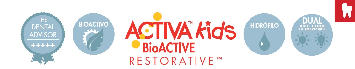 ACTIVA KIDS BIOACTIVE RESTAURACION PULPDENT