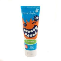 Pasta dental con Xylitol Bruhs-Baby sabor Hierbabuena (+ 6 años)