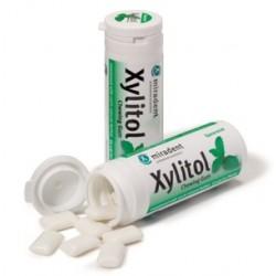 Chicle Xylitol sabor Hierbabuena bote 30 gr