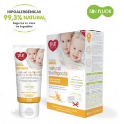 Pasta dental SPLAT Baby 0-3 años sabor Vainilla