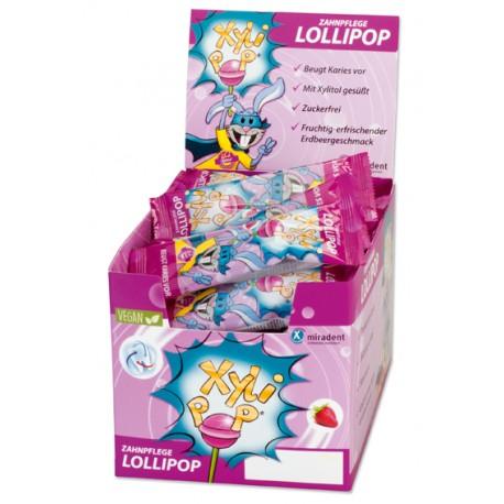 XyliPOP Lollypop - Caramelo de palo sabor FRESA