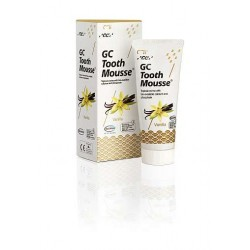 GC Tooth Mousse bote 40 gr sabor Vainilla