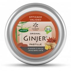 GINJER Pastillas BIO Jengibre-Anis lata 40 gr