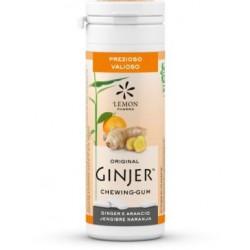 GINJER Chicles  Jengibre-Naranja bote 30 gr