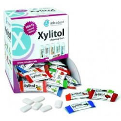 Caja Chicles Xylitol Miradent sabores surtidos (200x2 uds)