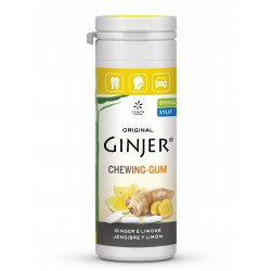 GINJER Chicles  Jengibre-Limón bote 30 gr