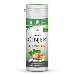 GINJER Chicles  Jengibre-Menta bote 30 gr