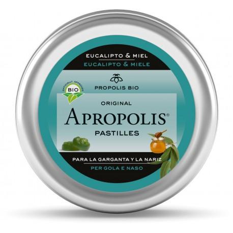 Pastillas Apropolis BIO (con Stevia) sabor Miel y Eucalipto