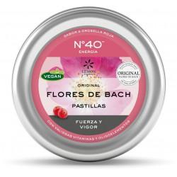 Pastillas Flores de Bach No.40 Energia