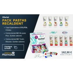 PACK PASTAS RECALDENT DE GC