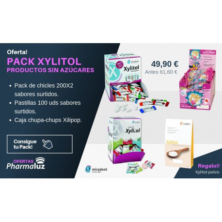 PACK XYLITOL - Productos sin azúcares