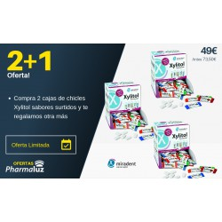 PACK CHICLES XYLITOL MIRADENT