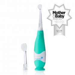 FIRST BRUSH CEPILLO BEBE 0-18 MESES COLOR VERDE MARCA BRUSH BABY