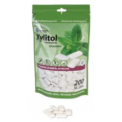 Bolsa Chicles Xylitol Miradent sabor Hierbabuena 200 uds
