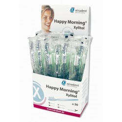 Caja cepillo desechable Happy Morning Xylitol ( 50 uds )